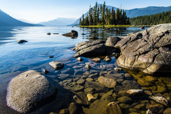 7. Lake Wenatchee State Park - Leavenworth