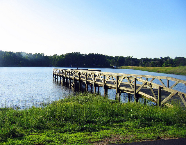 7. White Oak Lake: The picnic areas and hiking trails are gorgeous at this state park, located approximately 20 miles northwest of Camden, Arkansas.