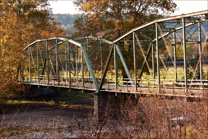 15. Woolsey Bridge: This is a truss bridge built in 1925 located near West Fork, Arkansas.