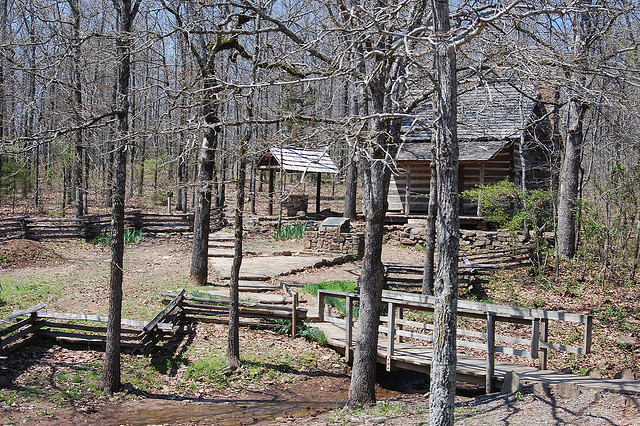 8. Wooly Hollow: This state park, connected to lovely Lake Bennett, is perfect for a picnic at a scenic location or a lazy morning of fishing.