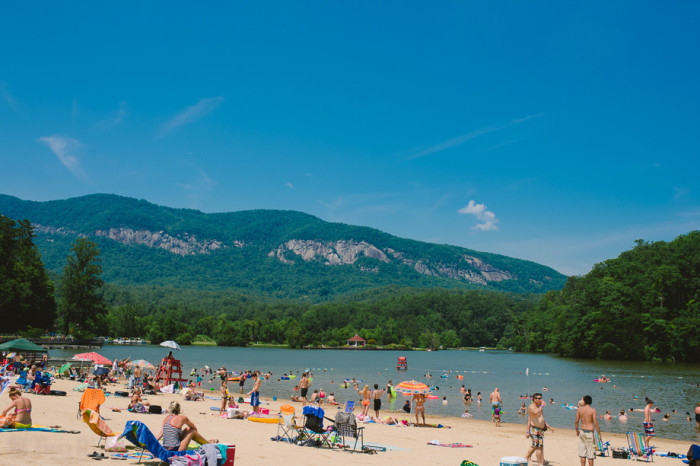 4. You can still get that beach vibe at Lake Lure