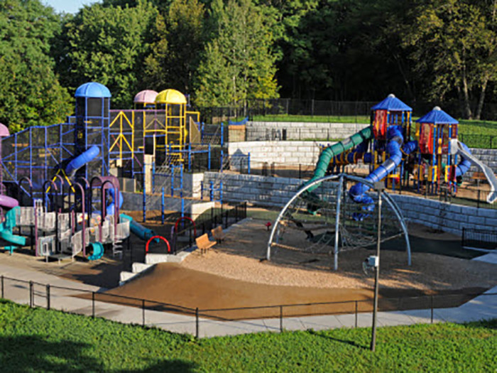 5. The Hyland Lake Park Reserve Play Area is one of the coolest playgrounds around and a favorite among decades of Minnesotans.