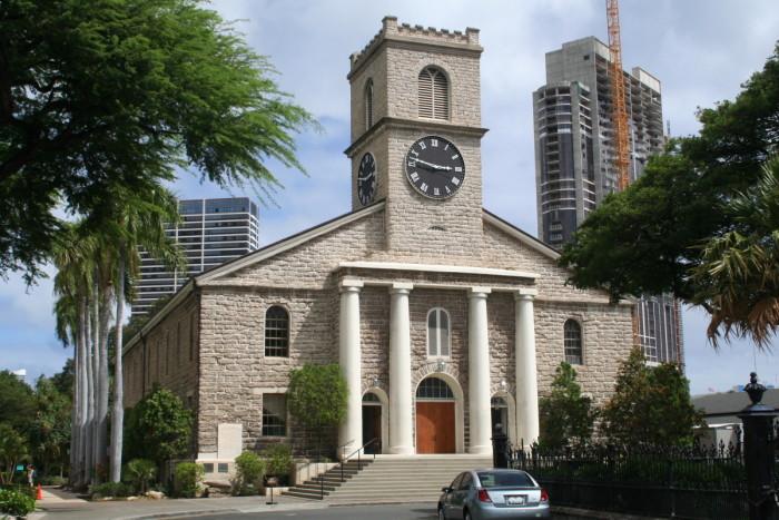 1) Kawai'ahao Church, Oahu