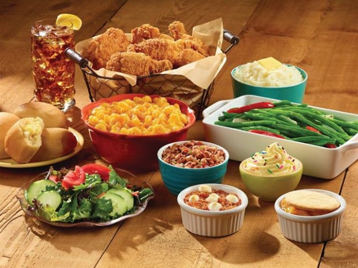 1. Old Country Buffet
