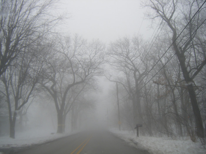 1. Where is this road in Gary, Indiana disappearing to?