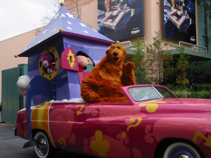 1. It is illegal to drive with an uncaged bear.