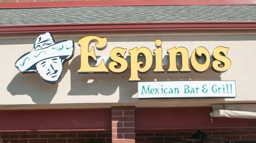 1. Espino's Mexcian Bar and Grill, Chesterfield