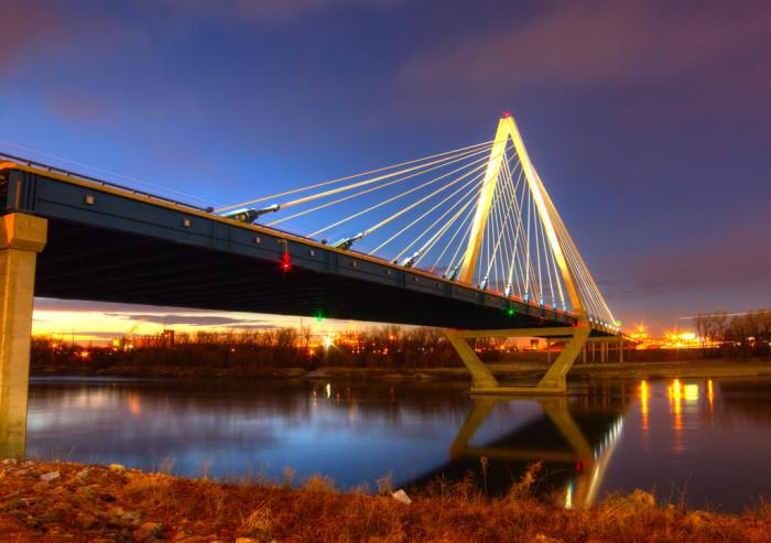 1. The Paseo Bridge (the ICON Bond Bridge), Kansas City