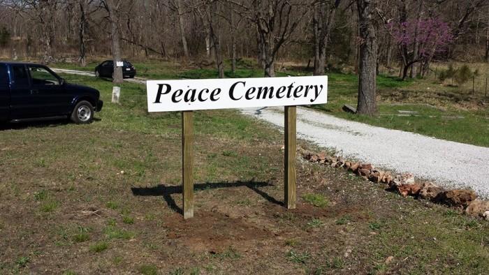 1. Peace Church Cemetery, Joplin