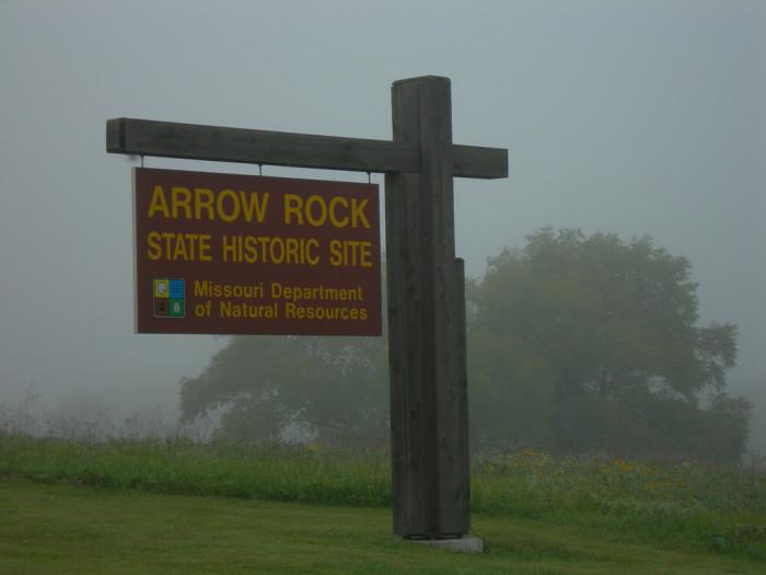 10. Arrow Rock, Population 56