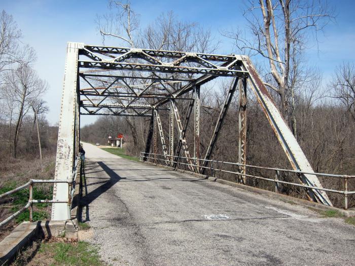 10. Over Johnson Creek, Spencer