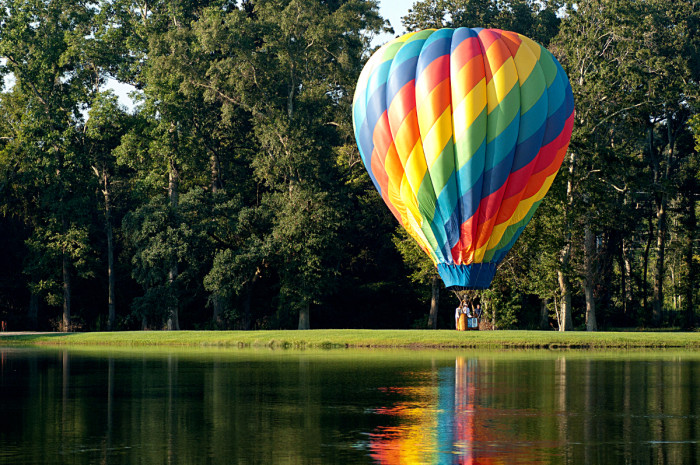 3. Here you also cannot land any aircraft, hot air balloons, parachutes or hang gliders on park property.