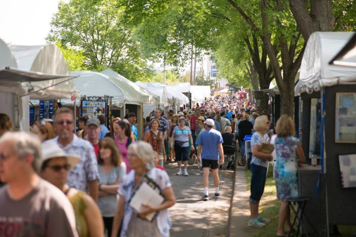 3. Uptown Art Fair - Don't miss the awesome art, food and music for the whole family this year! August 7-9.