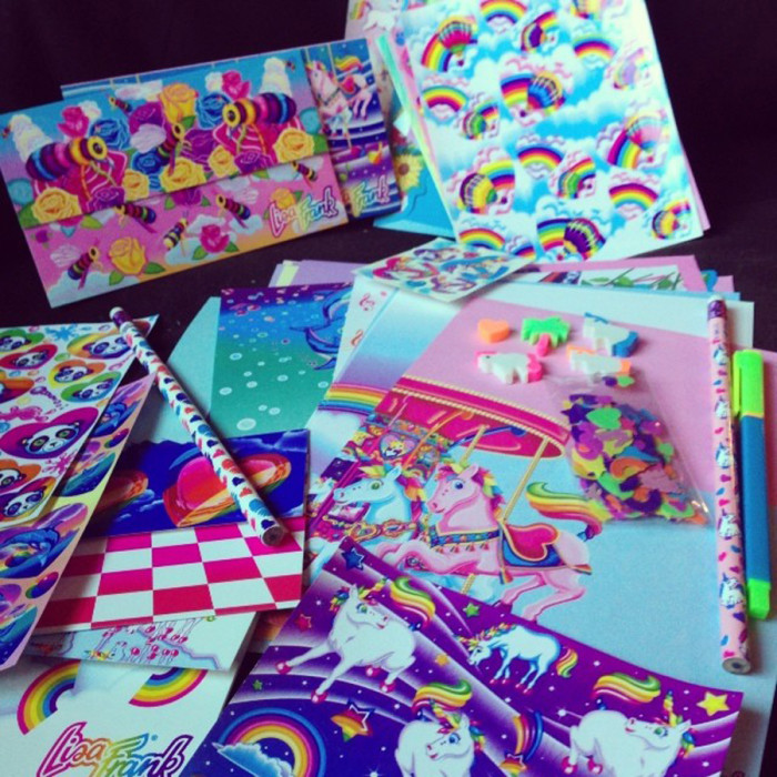 1. Remember Lisa Frank and when it first hit the shelves? I do and the colors were absolutely dazzling.