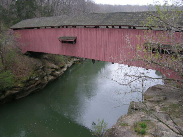 10. Narrows Covered Bridge