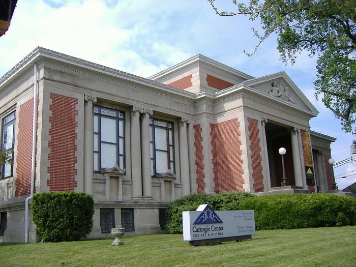 5. Carnegie Center for Art & History