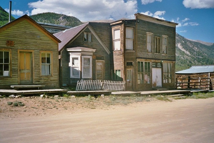 8.) There are almost as many dead towns in Colorado as there are live ones.
