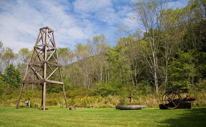 19. Oil Creek State Park, Venango County