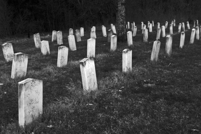 10. The final resting place of numerous Civil War soldiers, Brice Cross Roads Cemetery is known for supernatural happenings.