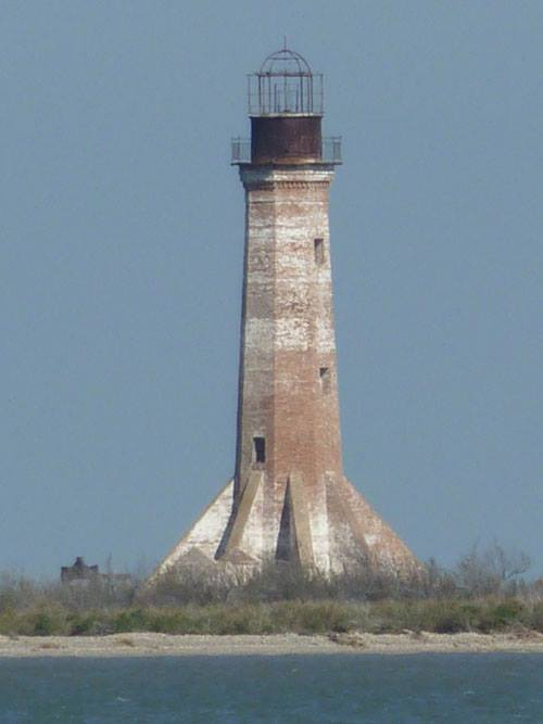 And finally end your day at the Sabine Pass Lighthouse, on the national register of historic places.