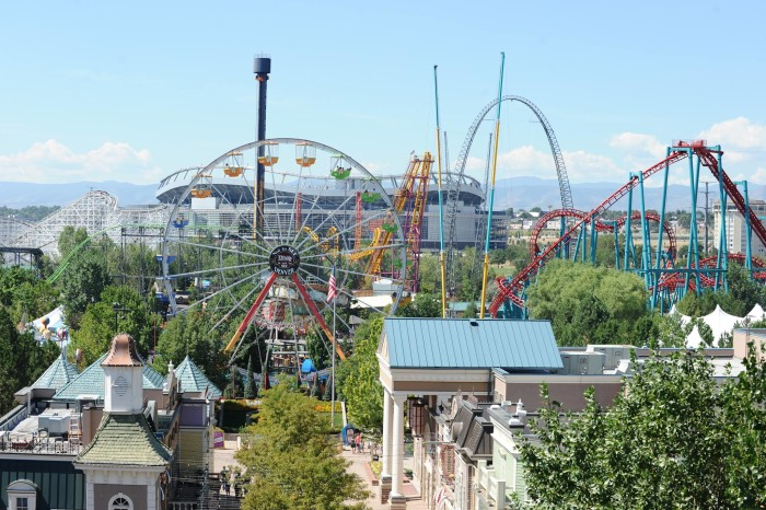 1.) Elitch Gardens (Denver)