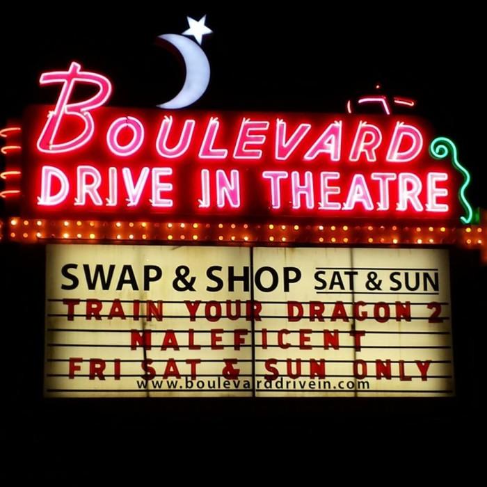 1.) Boulevard Drive-In Theater (Kansas City)