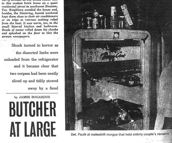 4) The Ice Box Murders