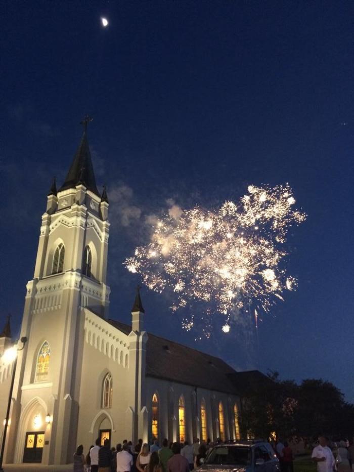 11) St. Philomena Catholic Church, Labadieville, LA