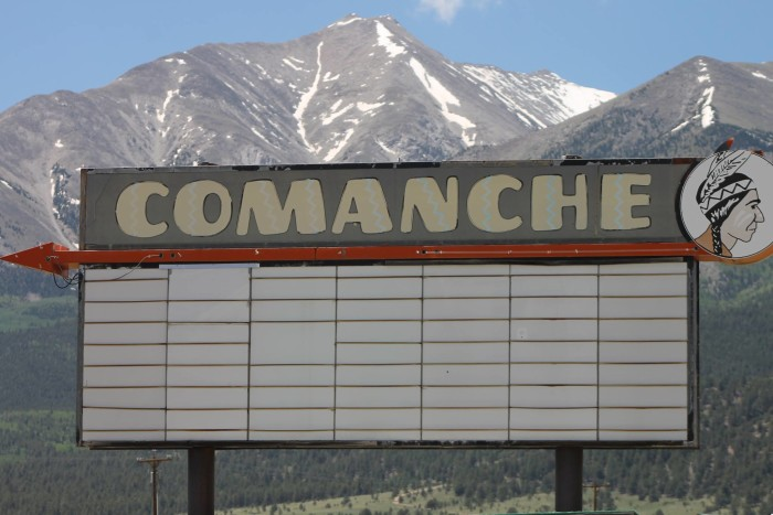 5.) Comanche Drive-In Theater (Buena Vista)