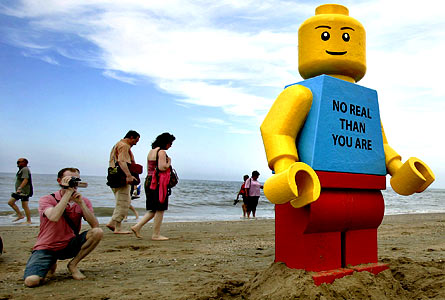 1. A Giant Legoman