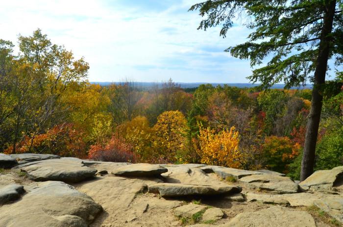 5) Cuyahoga Valley National Park High Point