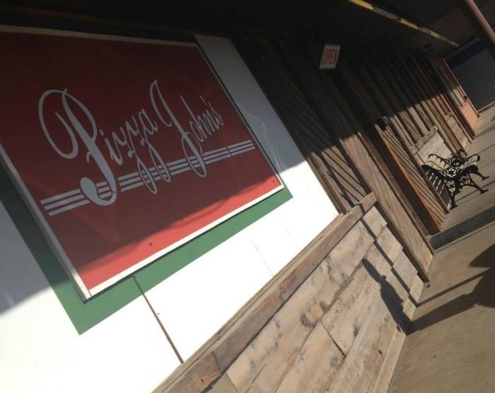 1.) Pizza John's (Derby)