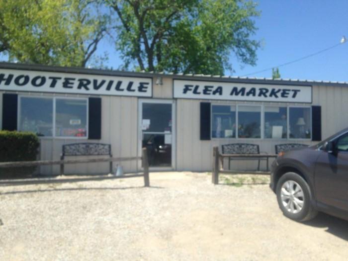 6.) Hooterville Flea Market (Carbondale)