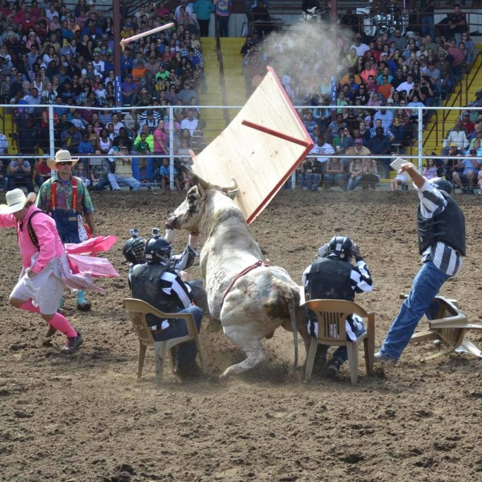 4) The longest running prison rodeo