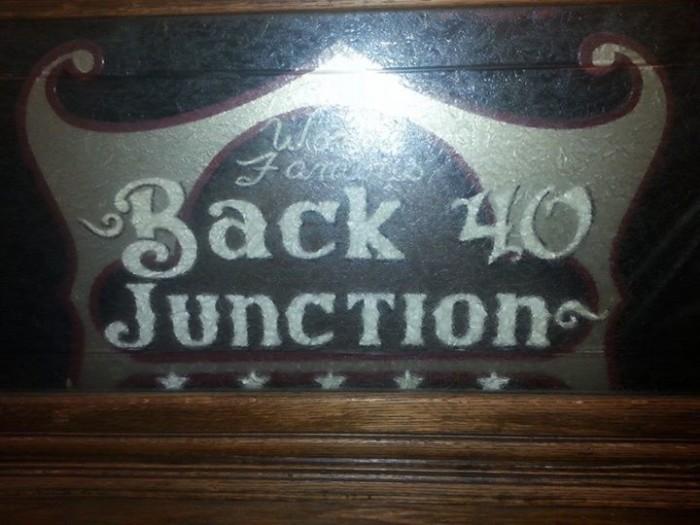 5. Back 40 Junction