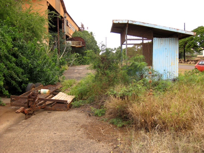 11) This sugar cane factory on Kauai looks like it was abandoned rather abruptly.