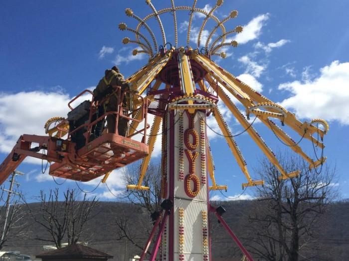 9. DelGrosso's Amusement Park, Tipton