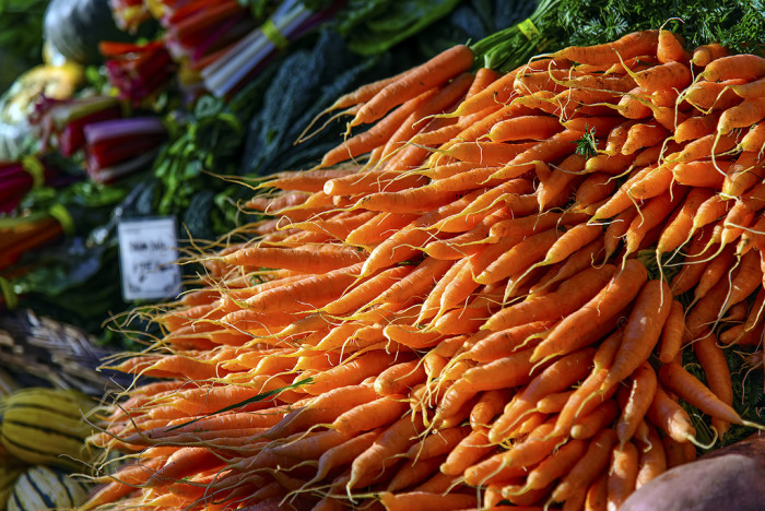 4. Browse a farmers' market