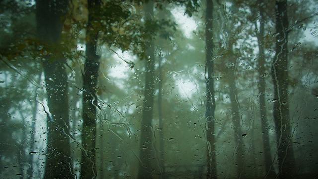 1. Dark and dreary raindrops