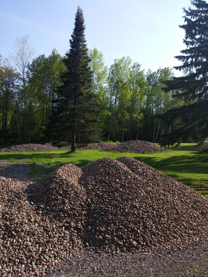 2. Get Pickin off Highway 33 lets you learn about the rocks of the Lake Superior area and pick through piles to find treasures to take home!