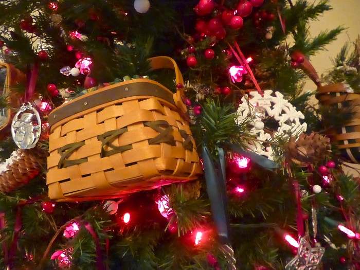 5) A Longaberger basket of some sort (even if it's full of miscellaneous items or tucked away in the basement.)