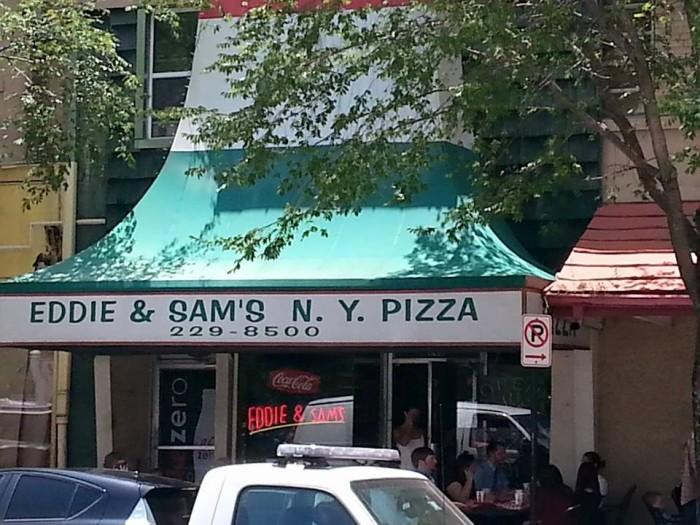 2. Eddie & Sam's N.Y. Pizza