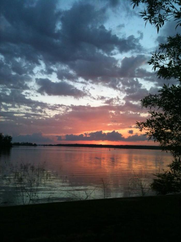 1) Toledo Bend Lake