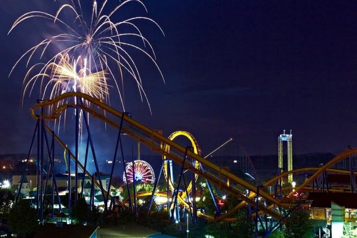 Dorney park fireworks
