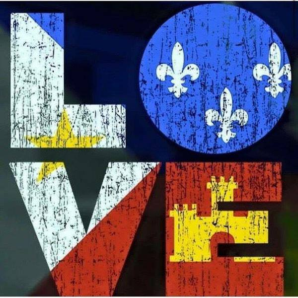 This image, the logo for Love Acadiana, has become a symbol for love and solidarity during this tragedy.