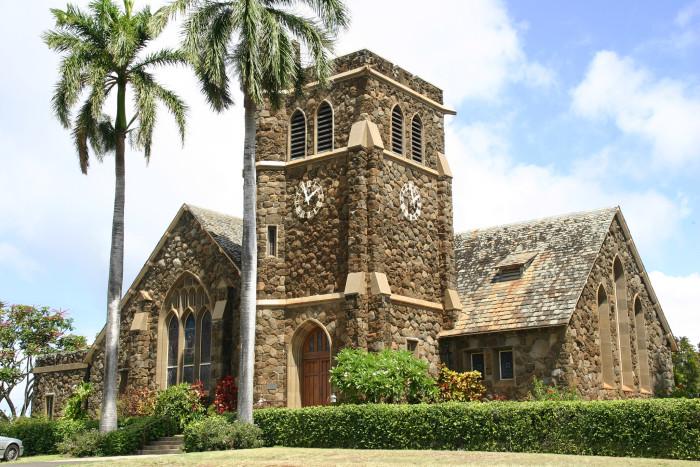 12) Makawau Union Church, Maui