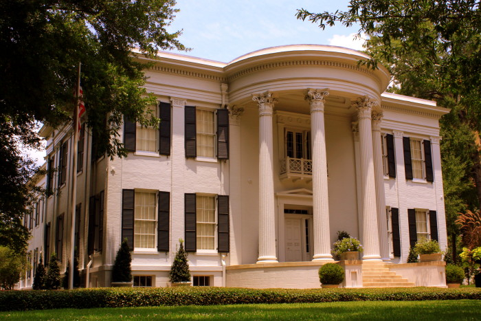 12. Take a tour of the Mississippi Governor's Mansion in Jackson.