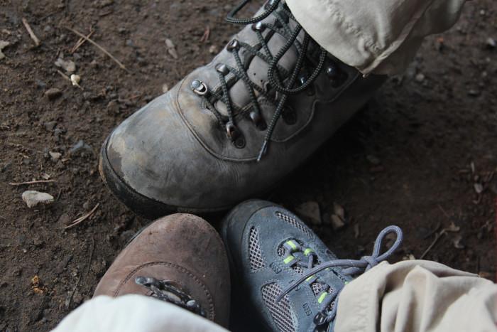 3) Hiking