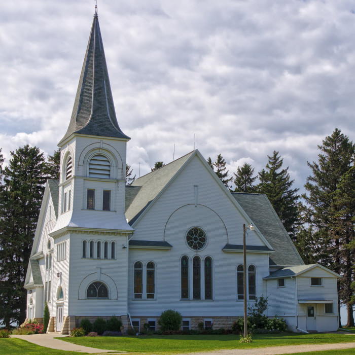15. Arendahl Lutheran Church is small but beautiful.