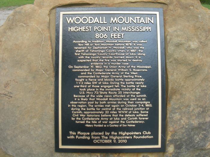 12. Woodall Mountain, Iuka